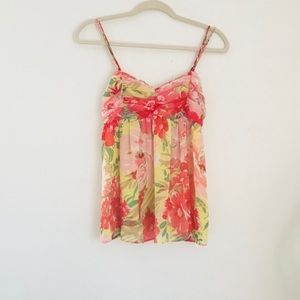 Abercrombie & Fitch Tropical Floral Tank
